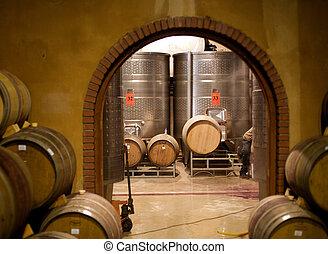 South African Winery in the Stellenbosch region
