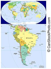 South America and World