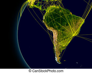 South America connections