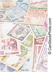South America currencies