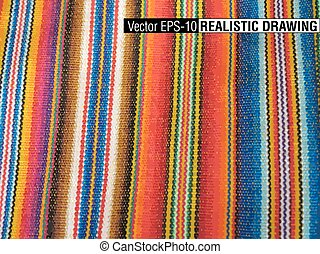 South America Indian woven fabrics