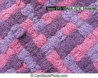 South America Indian woven fabrics