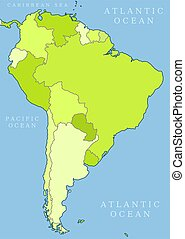 South America political division