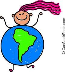 South American kid