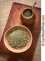 South American Mate Tea - South American yerba mate (mate...