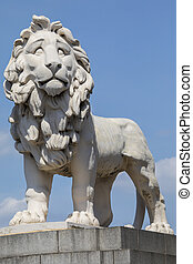South Bank Lion in London