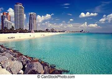 South Beach, Miami - South Beach in Miami, Florida