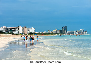 South Beach, Miami - South Beach Miami, Florida