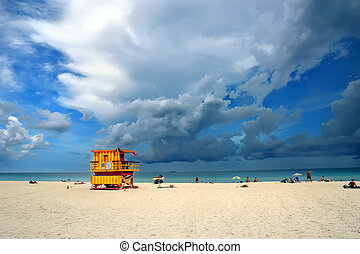 South Beach, Miami - South Beach Miami, Florida.