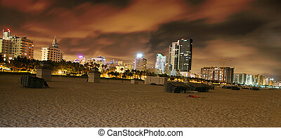 South Beach Skyscrapers - The picture of South Beach during...