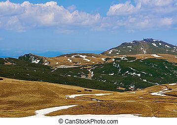 (south, bucegi, carphatians), montañas