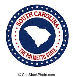 South Carolina stamp