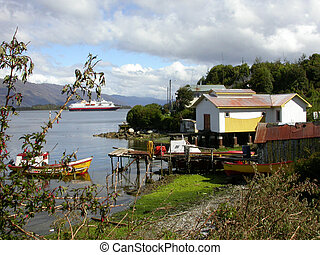 South Chile - In the Fjordland
