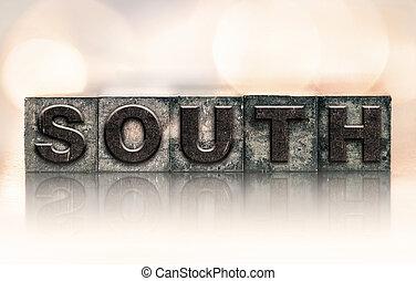 South Concept Vintage Letterpress Type