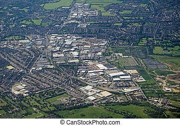 South Croydon, Aerial View