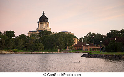 South Dakota State Capital Building Hughes County Pierre SD
