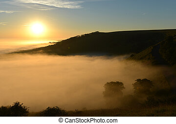 South downs sunrise