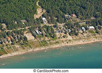 Georgian Bay shoreline - south eastern Georgian Bay ...
