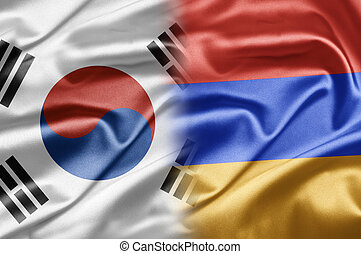 South Korea and Armenia