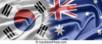 South Korea and Australia