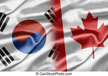 South Korea and Canada