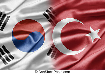 South Korea and Turkey