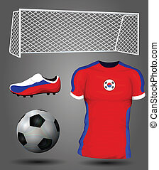 South Korea soccer jersey