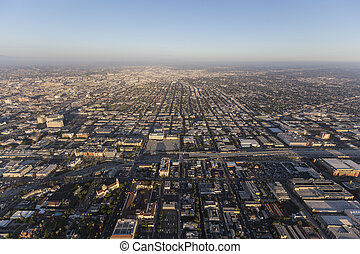 South Los Angeles Aerial