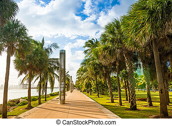 South Pointe Park in Miami Beach
