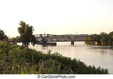 South Saint Paul Swing Bridge