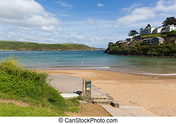 South sands beach Salcombe Devon UK
