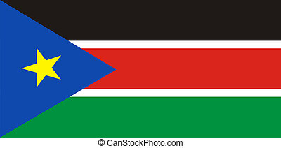 south sudan flag - very big size south sudan country flag
