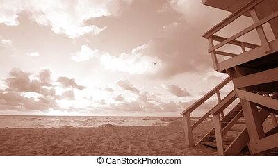 south tengerpart, alatt, miami, florida