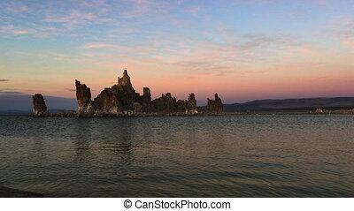 South Tufa Mono Lake at Sunset California USA Vertical...
