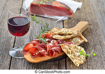 South Tyrolean snack