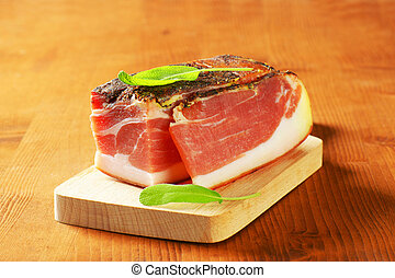 South Tyrolean speck