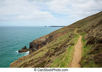 South West Coast Path Perranporth - South West Coast Path...
