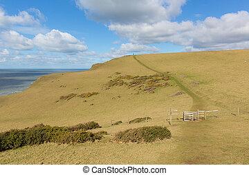 South west coast path Sandymouth - South west coast path...