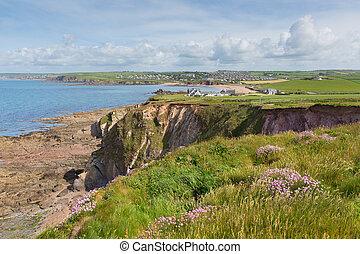 South west coast Thurlestone uk - South west coast path...