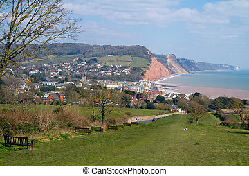 South West coastal Path Sidmouth - Sidmouth Devon South West...