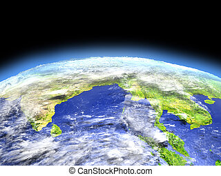 Southeast Asia from space - Southeast Asia as seen from ...