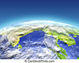 Southeast Asia from space - Southeast Asia from Earth's ...