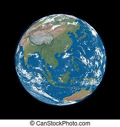 Southeast Asia on blue Earth - Southeast Asia on blue planet...