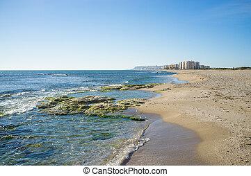 Southern Alicante coastline