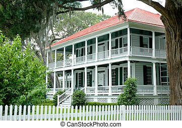 Southern Antebellum House