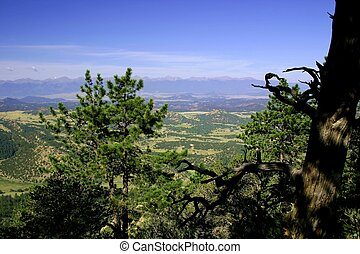 Southern Colorado - View from Oak Creek Grade in southern...
