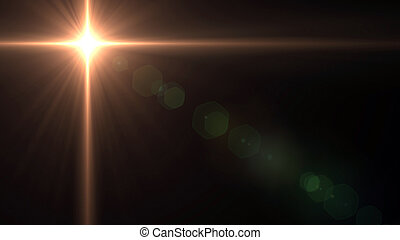 Southern cross Lens Flares star glow 1