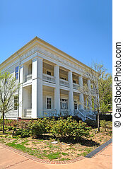 Southern Mansion - A Beautiful Two-Story Southern Mansion