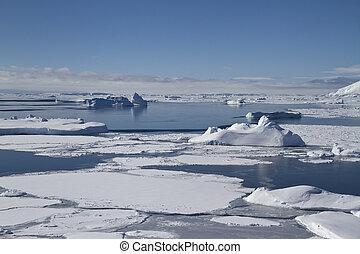 Southern Ocean and Antarctic islands near the Antarctic Peninsul