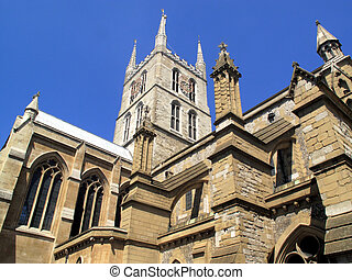 Southwark Cathedral, London, England, UK, believed to have...